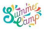 """SUMMER CAMP"" Hand Lettering Banner"