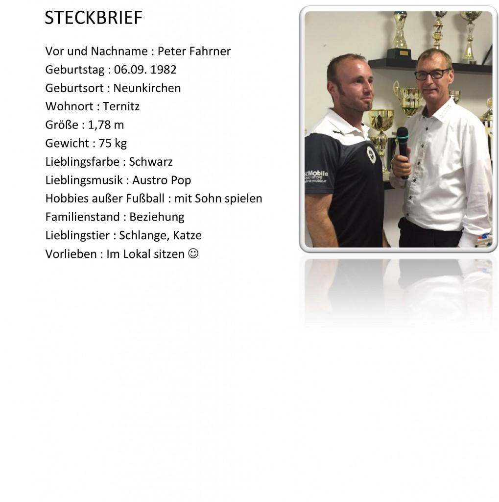 SOMMERGSEPRÄCHE MIT DEN NEUZUGÄNGEN Fahrner BEIM SC