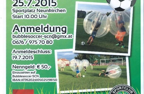 2 bubble soccer turnier am 25 sc eurotor neunkirchen. Black Bedroom Furniture Sets. Home Design Ideas