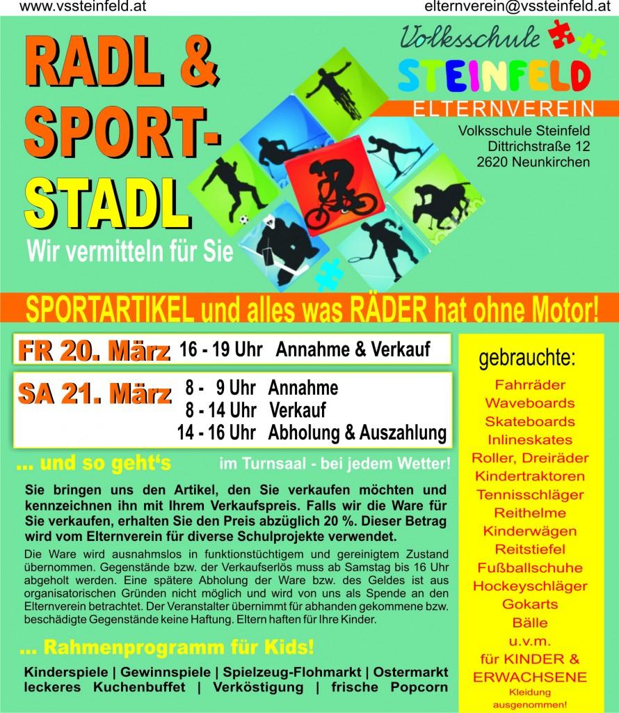 flyer 2015 radl & sport Stadl